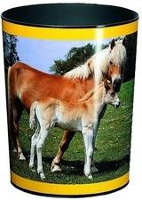 """Prullenmand """"paard met veulen"""" (5571)"""