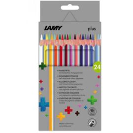 Lamy plus kleurpotloden 24st in karton (0084)