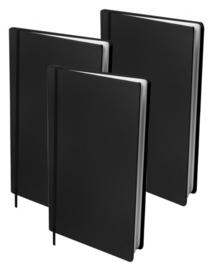 Dresz rekbaar kaft voordeelpak zwart 3st