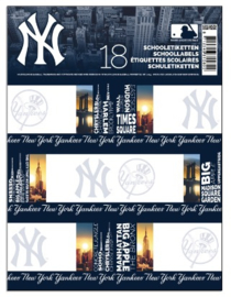 New York Yankees schoollabels black (5805)