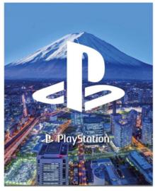 Playstation ringband 2r blauw (6763)
