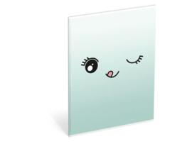 Bubble Cute 3x A5 schriften gelinieerd (9762)