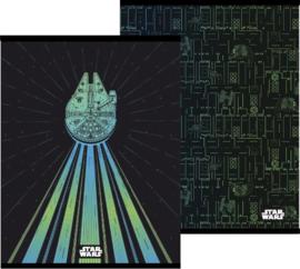 Star Wars A5 schriften gelinieerd (5189)