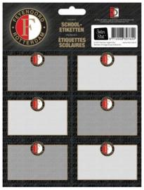 Feyenoord etiketten antraciet (7622)
