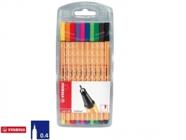 Stabilo Point 88 fineliners in etui (7842)