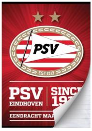 PSV schrift A4 gelinieerd