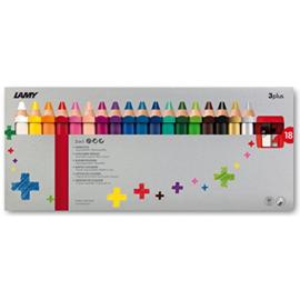 Lamy 3plus kleurpotloden 18st in karton (5491)