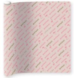 Little Diva kaftpapier roze (5911)