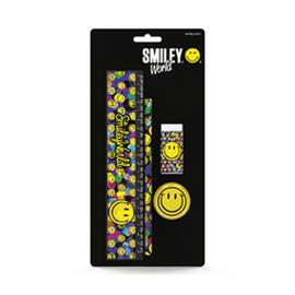 Smileyworld Setje schrijfwaren  4-delig