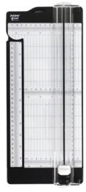 Paperfuel snijmachine met ril/vouw functie
