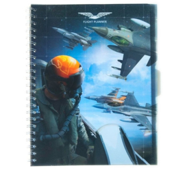 Flight planner A4 collegeblok