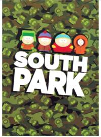 South Park A4 schrift ruit (3277)