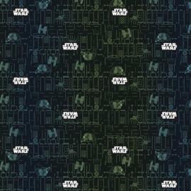 Star Wars kaftpapier graphic (5257)