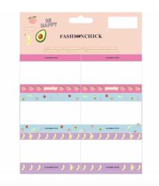 Fashionchick etiketten Be happy (3611)