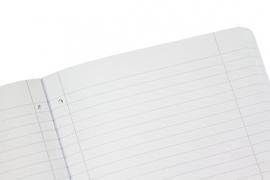 2x A4 schriftomslag vulling gelinieerd 80g 160blz (3701)