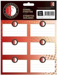 Feyenoord etiketten rood (2481)