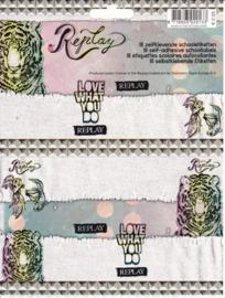 Replay girls etiketten AKTIE (0133)