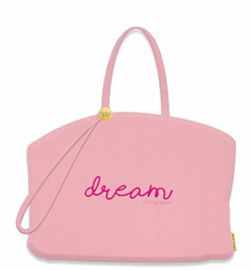 Little Diva shopper roze