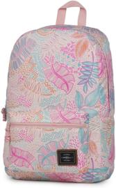 O'Neill Girls rugzak roze leaves klein (0219)
