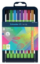 Schneider 8x Line up fineliner