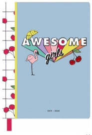 Awesome girls agenda 2019-2020 weekoverzicht (2515)