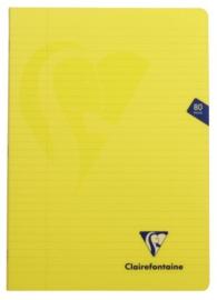 A4 schrift PP kaft 90g geel