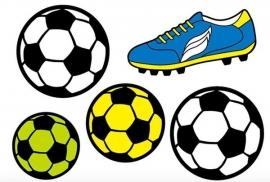 Voetbal reflectorstickers