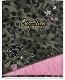 Replay girls A5 schriften luipaard (9052)