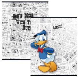 Donald Duck schriften A5 gelijnd wit (3529)