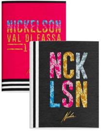 Nickelson A5 schriften zwart/roze (6951)