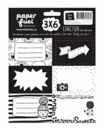 Paperfuel etiketten (3975)