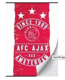 Ajax since 1900 A4 schrift gelinieerd (8191)