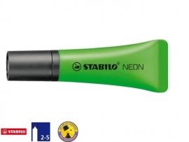 Stabilo markeerstift tube neon groen (1074)