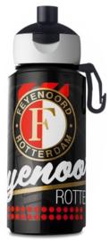 Feyenoord drinkfles zwart (6437)