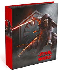 Star Wars 80mm ordner zwart/rood