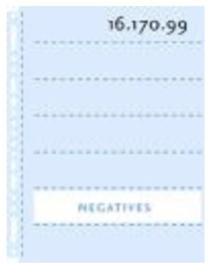Henzo 16.170.99 negatief tassen