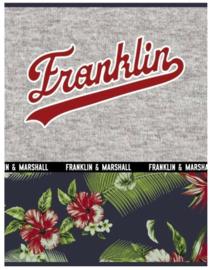 """Franklin & Marshall Boy's A4 schrift gelinieerd """"flowers"""" (3109)"""