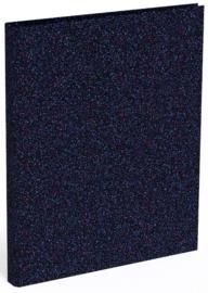 QC Sparkle ringband 4r donkerblauw (4330-E1)