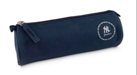 New York Yankees etui blauw rond (3699)