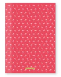 Little Diva A4 roze schrift gelinieerd (5775)