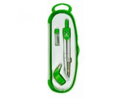 Ecobra inzetpasser groen (+ potlood hulpstuk) (3301)