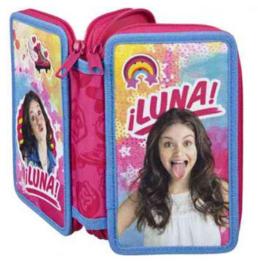 Soy Luna schooletui met Stabilo gevuld (5030)
