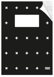 Martin Garrix A4 ruitjes schrift (enkel logo) (3613)