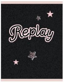 Replay girls A4 schrift ruitjes (4625)