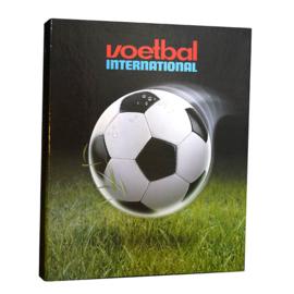 Voetbal international ringband 23r zwart groen (7595)
