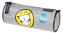 Smiley World etui grijs stof (8534)