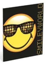 Emoticons A5 schriften gelijnd (1 smiley) (4020)