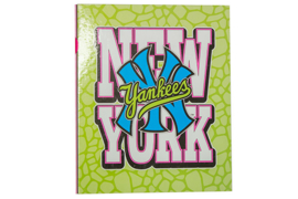 New York Yankees Ringband 23r groen / roze (2347)