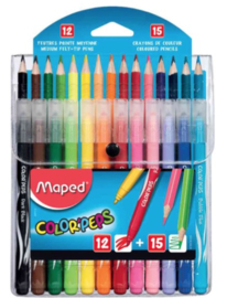 Maped colorpeps kleurpotloden en stiften