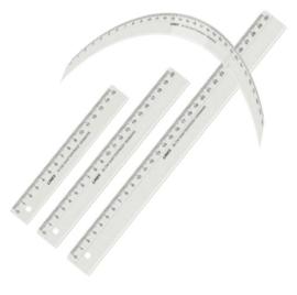 Linex onbreekbare liniaal 30cm